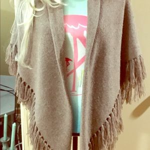 Lovely, Brown, Sweater Wrap!